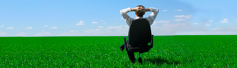 Employees will use your commercial landscaping to relax and take breaks.